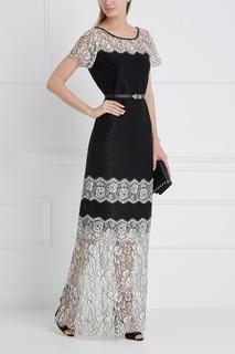 Кружевное платье St. John