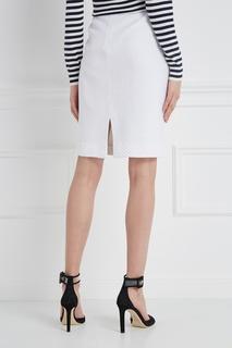 Однотонная юбка St. John