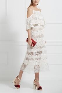 Кружевное платье Elie Saab