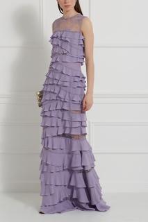 Шелковое платье Elie Saab
