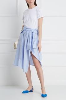 Хлопковая юбка Mo&Co
