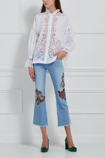 Расклешенные джинсы Ermanno Scervino