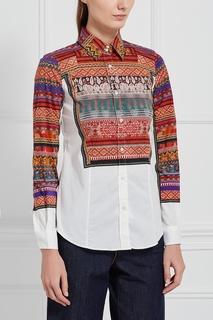 Хлопковая блузка Etro