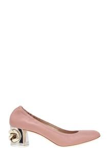 Кожаные туфли Casadei