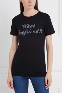 Хлопковая футболка Zoe Karssen