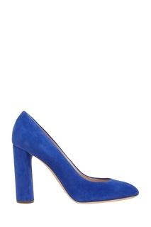 Замшевые туфли Casadei