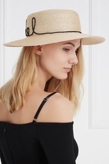 Соломенная шляпа Colette Eugenia Kim