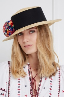 Соломенная шляпа Brigitte Eugenia Kim