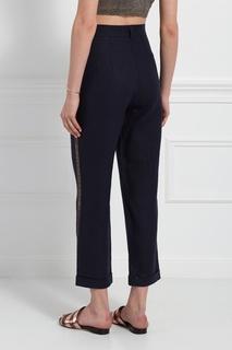 Льняные брюки Tegin