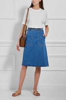 Джинсовая юбка Juno MiH Jeans