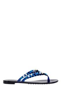Резиновые сандалии Casadei