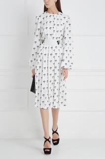 Платье-миди Victoria Beckham