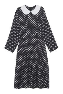 Шелковое платье Comme des Garcons Girl