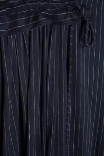 Платье из хлопка и льна Victoria Beckham