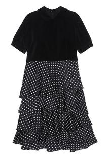 Хлопковое платье Comme des Garcons Girl