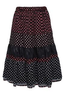 Хлопковая юбка Comme des Garcons Girl