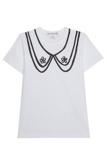 Хлопковая футболка Comme des Garcons Girl