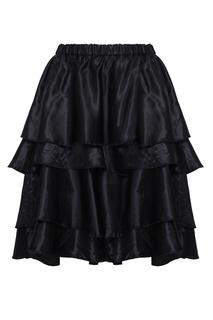 Однотонная юбка Comme des Garcons Girl