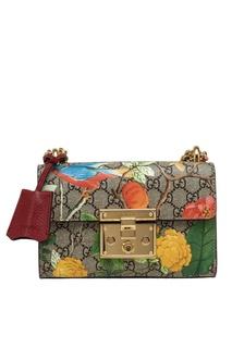 Кожаная сумка Tian Gucci