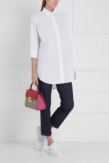 Комбинированная сумка Gucci