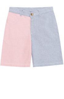Комбинированные шорты из хлопка Polo Ralph Lauren