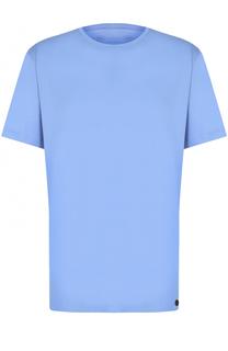 Хлопковая футболка с круглым вырезом Hanro