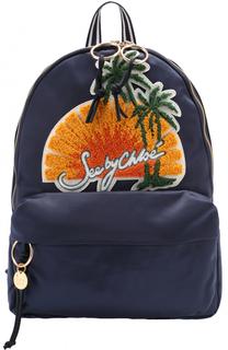Рюкзак с аппликацией See by Chloé