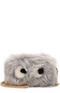Сумка Eyes Mini из овчины Anya Hindmarch