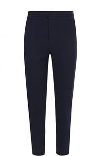 Хлопковые брюки прямого кроя с поясом на резинке и контрастной отделкой Polo Ralph Lauren