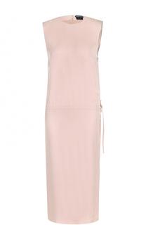 Платье прямого кроя с высоким разрезом Tom Ford