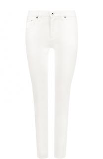 Укороченные джинсы-скинни с карманами Roberto Cavalli