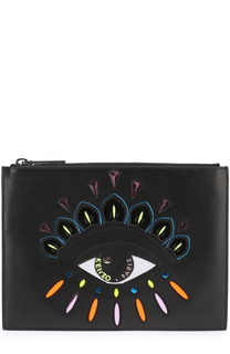 Клатч A5 Eye с вышивкой Kenzo