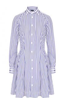 Приталенное платье-рубашка в полоску Polo Ralph Lauren