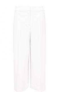 Укороченные брюки прямого кроя со стрелками St. John