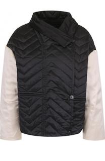 Шелковая стеганая куртка свободного кроя Isabel Marant