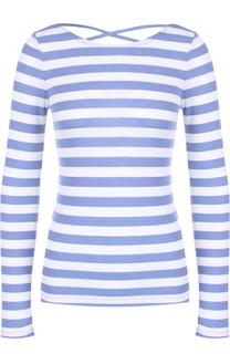 Облегающий пуловер в полоску с открытой спиной Denim&Supply by Ralph Lauren