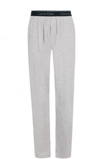 Домашние хлопковые брюки свободного кроя Calvin Klein