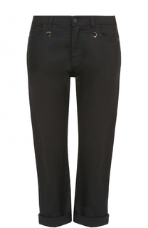 Укороченные джинсы с отворотами Fendi