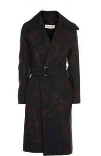 Пальто с поясом Dries Van Noten