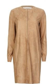 Замшевое пальто DROMe