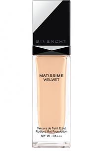 Тональное средство Matissime Velvet SPF 20-PA+++, оттенок 01 Givenchy