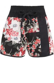 Мини-шорты с эластичным поясом и цветочным принтом Rag&Bone Rag&Bone