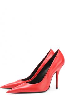 Лаковые туфли с зауженным мысом Balenciaga