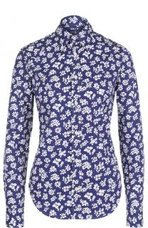 Блуза свободного кроя с цветочным принтом Polo Ralph Lauren