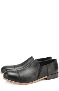 Кожаные ботинки с круглым мысом O.X.S.