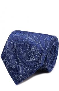 Шелковый галстук с узором пейсли Churchs