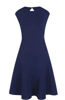 Приталенное платье с открытой спиной и круглым вырезом Polo Ralph Lauren