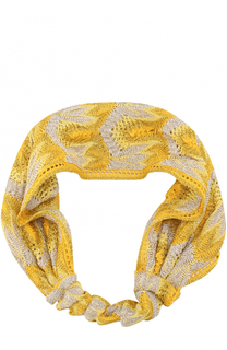 Вязаная повязка для волос Missoni