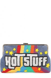 Клатч Hot Stuff с вышивкой бисером Sarah's Bag