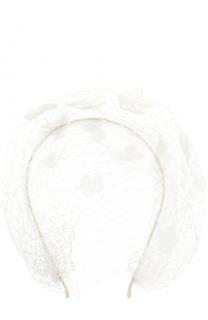 Ободок с кружевным декором Jennifer Behr